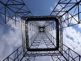 Wieża Eiffla - widok z dołu