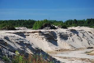 Skarpy piasku
