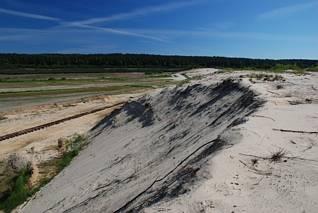 Nad starym wyrobiskiem piasku