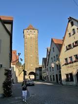 Wieża na murach miasta