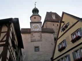 Wieża z zegarem