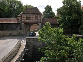 Brama do miasta Rothenburg