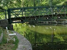Mostek nad rzeką Tauber