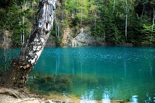 Turkusowe jeziorko