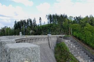 Korona zapory w Pilchowicach