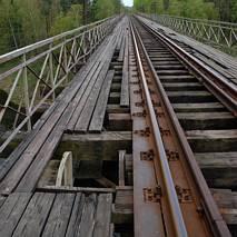 Stary wiadukt kolejowy