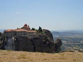 Jeden z większych klasztorów