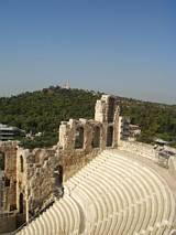 Amfiteatr - częściowo odbudowany