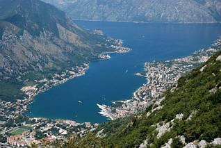 Zalew Kotorski i miasto Kotor