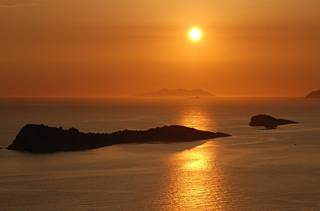 Wieczór nad Adriatykiem