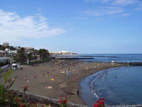 Ciemne plaże Teneryfy