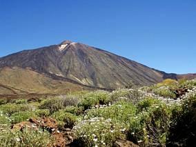 Szczyt Pico Del Teide