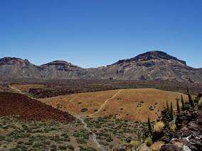 Kaldera u podnuża Teide