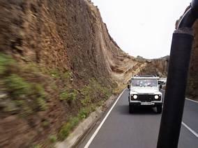 Jeden z samochodów naszej wycieczki