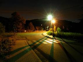 Zawoja Składy nocą