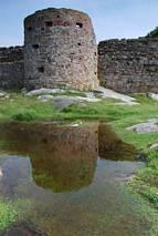 Hammershus - baszta
