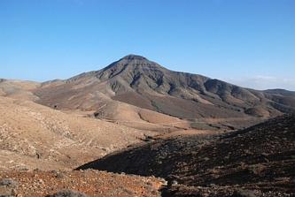 Wzgórza w drodze do Ajuy