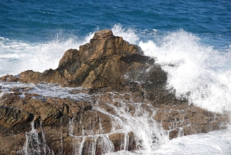 Ajuy - morze i skały