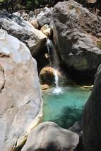 Wąwóz Samaria - potok