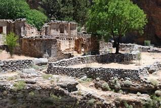 Samaria - ruiny