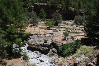 Samaria - ruiny osady