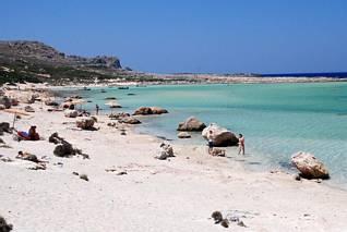 Południowa część laguny Balos
