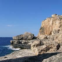 Wybrzeże przy Cala Figuera