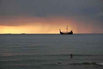 Międzyzdroje - stary statek