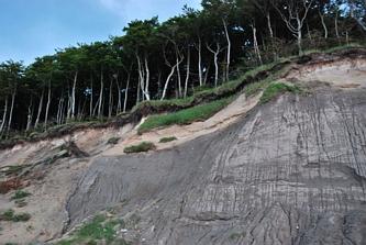 Klify w okolicy Gosań